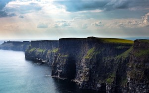 Cliffs of moher county clare ireland nature wallpaper
