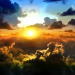 Dreamy sunset widescreen wallpaper