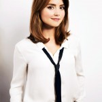 Jenna coleman doctor who season photoshoot christmas special promo
