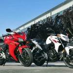 WING2167 2015 honda cb500f cbr500r side by side