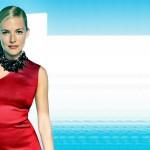 sienna miller in red dress high resolution