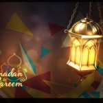 Abstract Ramadan Kareem