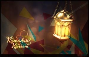 Abstract Ramadan Kareem