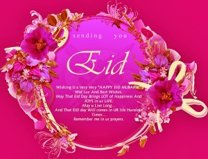 Happy bakrid