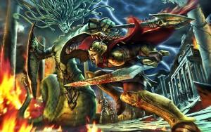 Hero of sparta Wallpaper