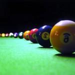 Pool Billiard Wallpaper Balls Lined Up